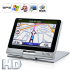 Navitron 5 Inch HD Touchscreen GPS Navigator with Metal Cover  4GB  600MHz CPU  SiRF V