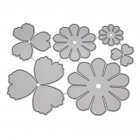 New Metal Craft Dies Multi-layer Flower Scrapbooking Dies Cut DIY Decoration