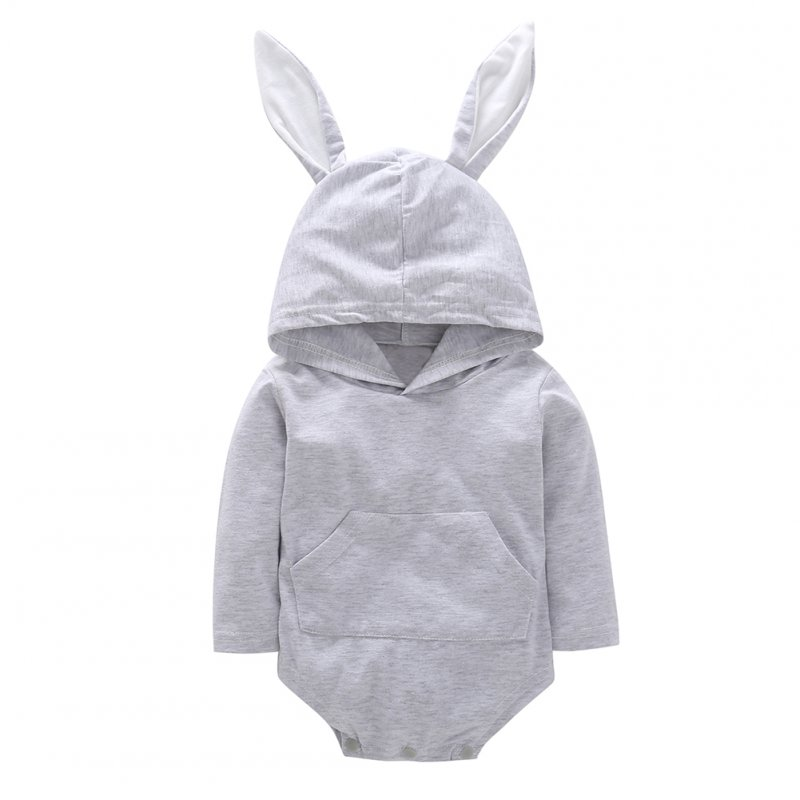 Unisex Newborn Baby Lovely Hooded Romper