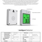Non contact High Precision Human Thermometer Infrared Detector English Version white