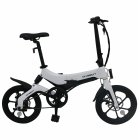 ONEBOT S6 Electric Bike Foldable Bicycle Variable Speed City E-bike 250W Motor 6.4Ah Battery Max 25Km/h Max Load 120kg white
