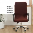 Office Chair  Cover Universal Stretch Desk Chair Cover Computer Chair Slipcovers Light coffee