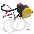 Oil Diesel Fuel Fluid Extractor Electric Transfer Scavenge Suction Pump 5A 12V As shown