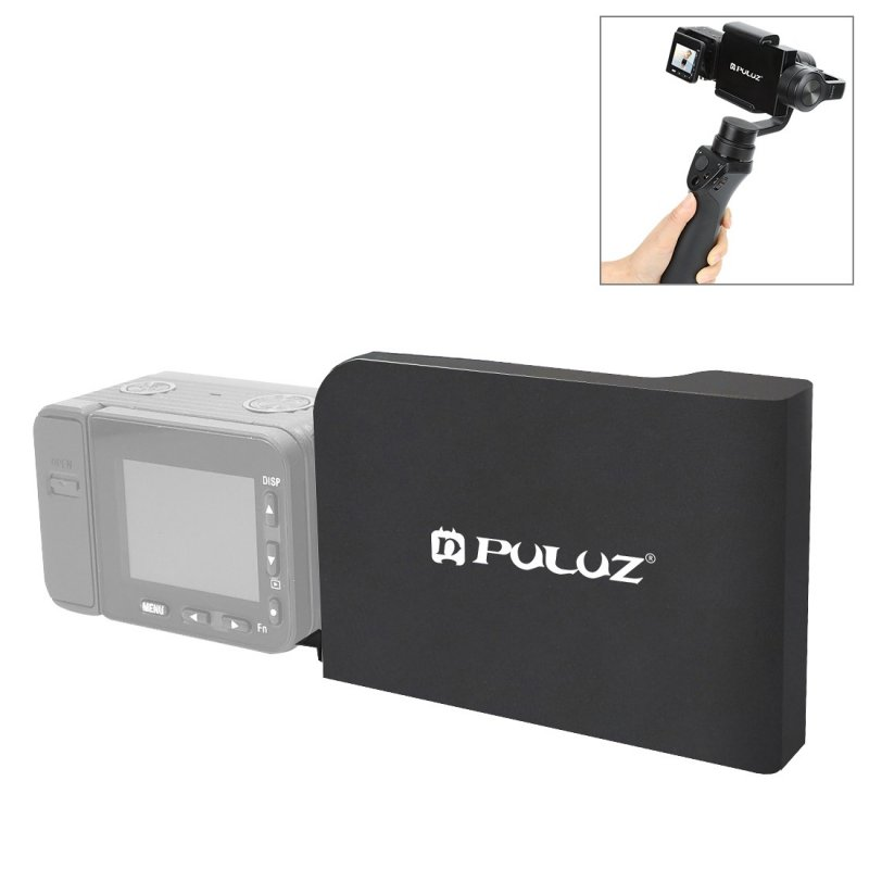 PULUZ Mobile Phone Gimbal Switch Mount Plate Adapter for Sony RX0 II Handheld Phone Gimbal Camera Accessories black