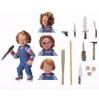 Peace Bird 4 Inch Chucky Doll Action Figure Child's Fun Play Ultimate Chucky PVC Collectible Model Toy