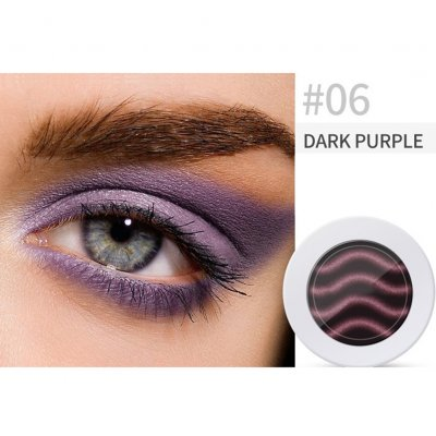 Pearl Light Matte Gradient Eyeshadow Contour Powder Makeup Tool Face Highlighter 6# deep purple