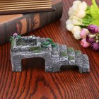 Pet Basking Platform Corner Ramp Toy for Tortoise Reptiles Snake Aquarium Decoration  small