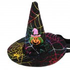 Pet Cosplay Hat Headwear for Cat Halloween Party Accessories braid pumpkin_One size