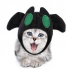 Pet Halloween Bat Shape Hat Cat Dog Teddy Party Cosplay Headgear Costume Bat hat One size