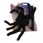 Pet Spider Shape Chest Strap Leash for Cat Halloween Christmas Wear black One size