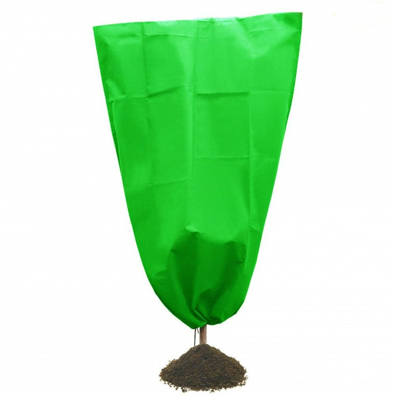 Plant Covers Freeze Protection Thickness Outdoor Plant Covers for Winter Frost Cover for Shrub Trees green_160*200CM