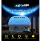 Pocket Mini LED Projector Video Game Projector Beamer Home Theater Projector AU plug