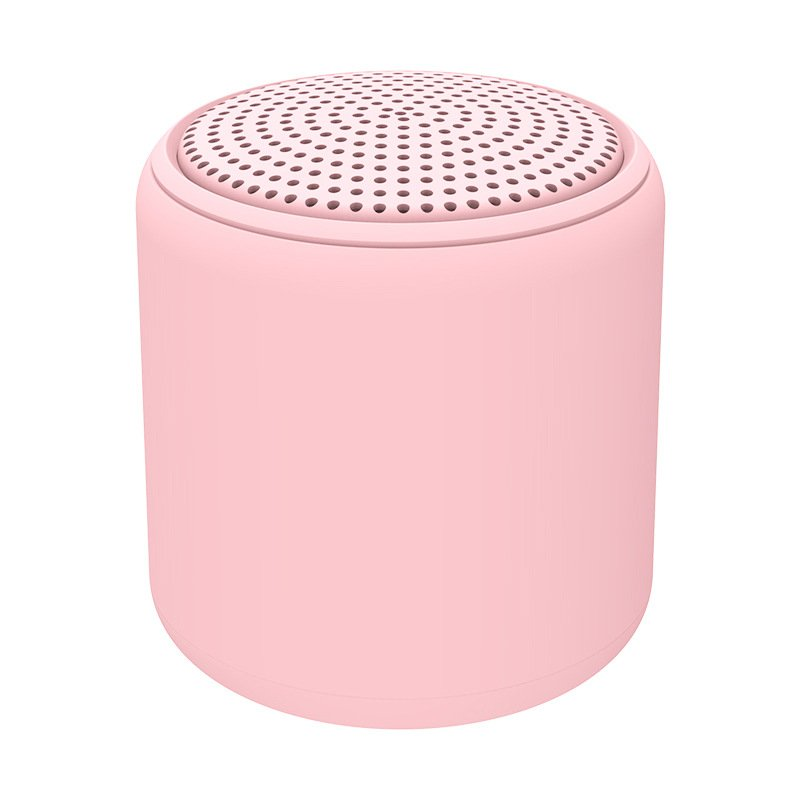 Portable Bluetooth Speaker Mini Wireless Stereo Handsfree Music Box for All Smartphones Computer wit Pink