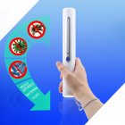 Portable UVC Sanitizer Wand Ultra Violet Light Kill Bacteria Sanitizing Rod white