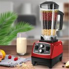 Professional Countertop Timing Blender Mixer for Shakes Smoothies Crusing Ice red