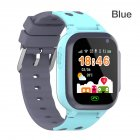 Q16 Waterproof Children Watch GPS Positioning SIM Card Smart Watch With Breathing Light USB APP Phone Watch Q16 blue ordinary