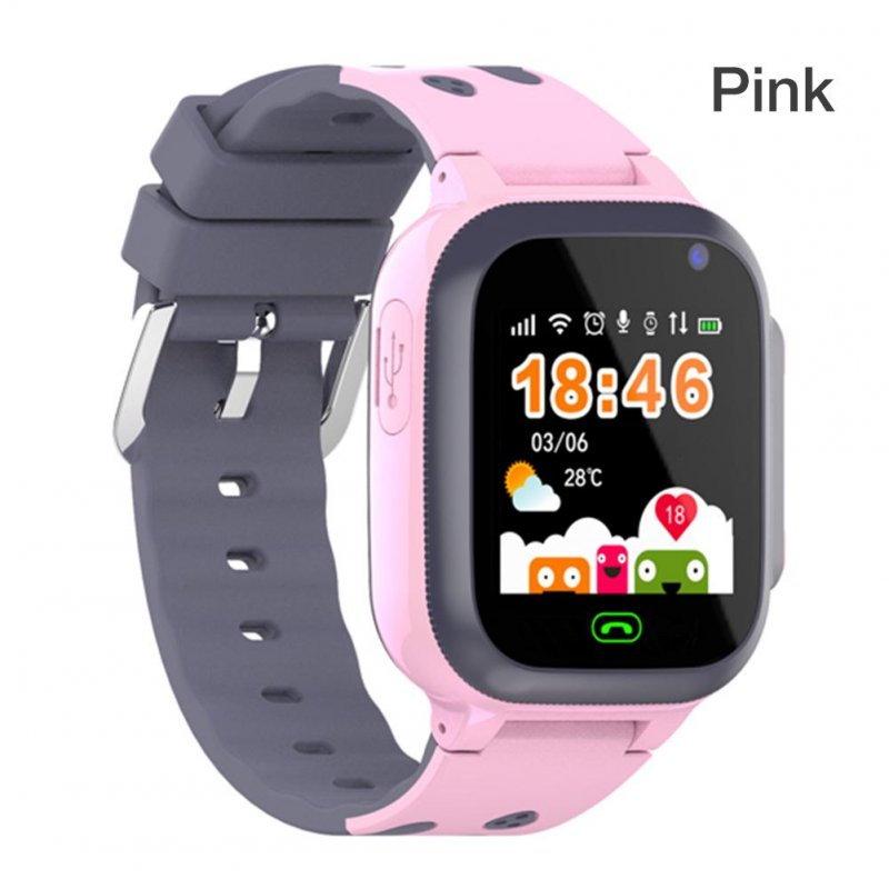 Q16 Waterproof Children Watch GPS Positioning SIM Card Smart Watch With Breathing Light USB APP Phone Watch Q16 pink ordinary