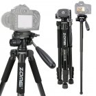 Q222 Pro Portable Camera Tripod Monopod Head