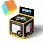 Qiyi Qixing S2 7x7 Speed  Cube Stickerless Magic  Cube Puzzle Toy For Kids stickerless cube