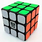 Qiyun Aolong 3x3x3 Speed Cube Puzzle . Black