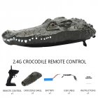 RC Alligator Head 2.4G Remote Control RC Boat Joke Prank Maker Fun Simulation Spoof Children Toys Halloween Decor alligator remote control boat_B802