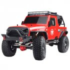 RGT EX86100 PRO Kit 1/10 2.4G 4WD RC Car Electric Climbing Rock Crawler without Electronic Parts Outdoor Vehicle Toy red