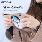 ROCK W20 Qi Wireless Charger for iPhone X Suction Cup 7.5W Quick Charge for iPhone XS MAX 8 Samsung Xiaomi black
