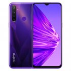 Realme 5 Global Version 3GB 64GB 6.5'' Mobile Phone Snapdragon 665 12MP Quad Camera Cellphone 5000mAh Fast Charger EU Plug purple_3+64