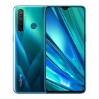 Realme Q 6.3in Full Screen R 5 pro 8+128 GB Snapdragon 712AIE Octa Core Waterproof Super VOOC 2340×1080 5cameras 48MP Face+Fingerprint ID green
