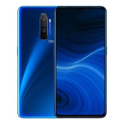 Realme X2 Pro 8+128GB Mobile Phone 6.5'' Full Screen Snapdragon 855 Plus 64MP Quad Camera NFC Cellphone VOOC 50W Super Charger blue_8+128