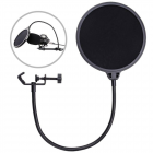 Recording Studio Microphone Pop Filter Mic Wind Screen Mask Shield Double Layer(Color Packing) Windshield (color box packaging)