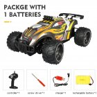 Remote Control Car X Power s-008 Yellow single battery package_1:16