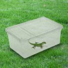 Reptilian Feeding Box Escape-proof Transparent Spider Horn Frog Turtle Snake Breeding Container