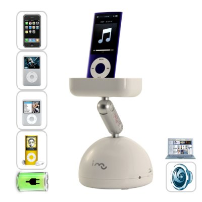 Resonance Speaker for iPod