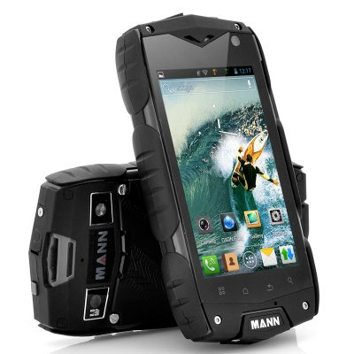 4 Inch Rugged Android Phone - MANN A18 (B)