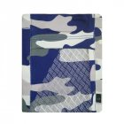 Running Mobile Phone Arm Bag Sports Arm Pocket Fitness Elastic Running Close fitting Wrist Bag Blue grey camouflage
