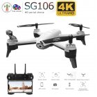 SG106 RC Drone Optical Flow 1080P 4K HD Dual Camera Real Time Aerial Video RC Quadcopter Aircraft Positioning RTF Toys Kids 4K dual camera