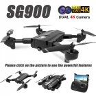 SG900 Drone Dual Camera HD 720P Profession FPV Wifi RC Drone Fixed Point Altitude Hold Follow Me Dron Quadcopter 4K 3 battery