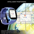 SIMU Sports Timing Watch Smart Bluetooth Electronic Watch SIM Card Watch blue