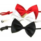 3 Adjustable Dog Bow Tie Pet Collar