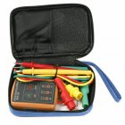 SM852B 3 Phase Sequence Rotation Tester LED Indicator Detector Checker Meter(Without Battery) Orange