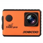 SOOCOO S100 Pro 4K Action Camera, Orange