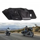 Saddlebag Organizers Saddle Bag Organizers for Touring Street Glide Road King 2014-2019 black