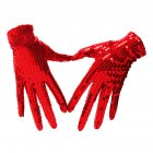 Shimmer Sequin Costume Gloves