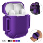 Silicone Case Cover Protective Skin for Apple Airpod AirPods Charging Case  purple