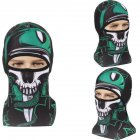 Skull Head Magic Turban Outdoor Sports Cycling Mountaineering Ski Headscarf Warm Breathable Mask 5  One size