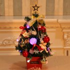 Small Mini Christmas Tree Mall Hotel Counter Christmas Decorations Desktop Ornaments 2#