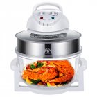Smart Air  Fryer Large Capacity Household Convection Oven Visual Air Fryer For French Fries 12l-17l white