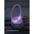 Smart Home Bluetooth Speaker Mobile Computer Universal Rechargeable Wireless Colorful Night Light Speaker blue