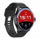 Smart Watch 1 6 Inch Face Unlocking Dual Camera 4G Smartwatch black